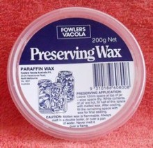Fowlers Vacola Preserving Wax is the perfect airtight sealing agent for jams, pickles, chutneys and relishes.