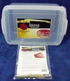 The Epicurean Home Made Bacon Kit has everything that you need to get started making your own bacon.