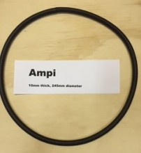 AMPI O-ring - 10mm thick with a 245mm diameter