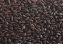 Unmalted barley kernels that have been toasted in an oven until almost black. Contributes the majority of the flavour and the characteristic dark-brown colour; undertones of chocolate and coffee that are characteristic of Stouts, Porters and other Dark beers.  Can make up to 10% of the grain bill.  (EBC 1100 - 1200)