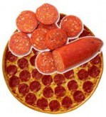 Pepperoni is an American adaptation of a spicy southern Italian sausage.