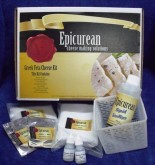 Within this starter kit you will find all the basic equipment, ingredients and instructions to enable you to make up to 10 batches of Greek Style Feta cheese at home.
