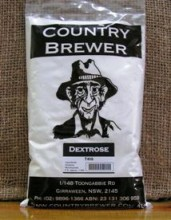 A simple sugar also known as Glucose or Corn Sugar. Dextrose is completely fermentable, producing more alcohol than the same quantity of Malt Extract. Addition of Dextrose will lighten the body and flavour of your beer.