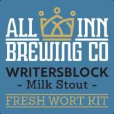 Writers Block Milk Stout – All Inn Brewing Fresh Wort