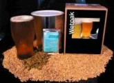The Wetpak Summer Wheat, is a beer designed with the German Hefeweizen style in mind. The inclusion of orange peel and coriander combined with the specialty yeast gives the heady and spicy aroma and flavour typical to with this style of beer.