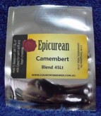 Combining a blend of Mesophilic Cheese Cultures and White Mould Spores, this starter is ideal for making your own Camembert or Brie cheese at home.