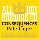 Consequences Pale Lager – All Inn Brewing
