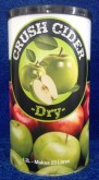 If you're looking for a more traditional dry cider with a full apple flavour and aroma, Crush Dry Cider is the answer.  Made in Australia by The Country Brewer, each 1.2 litre can of Crush Dry Cider contains a little liquid malt extract combined with the concentrated extract from 40 kg of apples resulting in a delicious dry cider with great body and mouthfeel.  *** Requires 1kg of extra fermentables to make 23 Litres, we recommend 1kg of Ultrabrew or similar blend for best results. ***