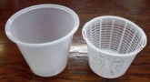 Ricotta basket with container - Small