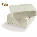 Feta or Fetta cheese