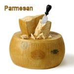 Parmesan or Romano cheese