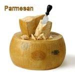 Parmesan or Romano cheese