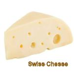 Swiss or Emental cheese