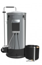 The Grainfather, is your all in one brewing system to make beer from grain. The sleek look, user friendly design, and innovative features, make this your perfect brewing companion for both experienced and beginner all grain brewers.