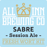 Sabre Session Ale – All Inn Brewing