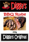 Digga's BBQ Rub - 200g