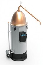 Turn the Grainfather into a microdistillery by attaching the Alembic Condenser and Dome Top.